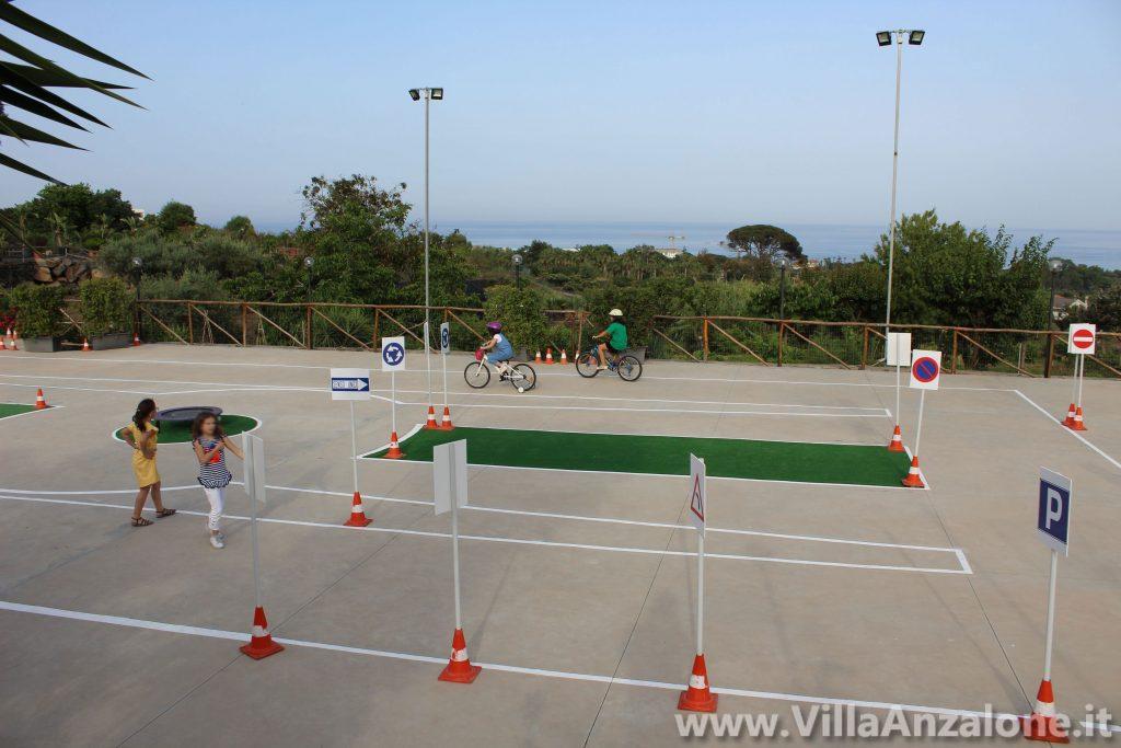 Campo educazione stradale Acireale Catania