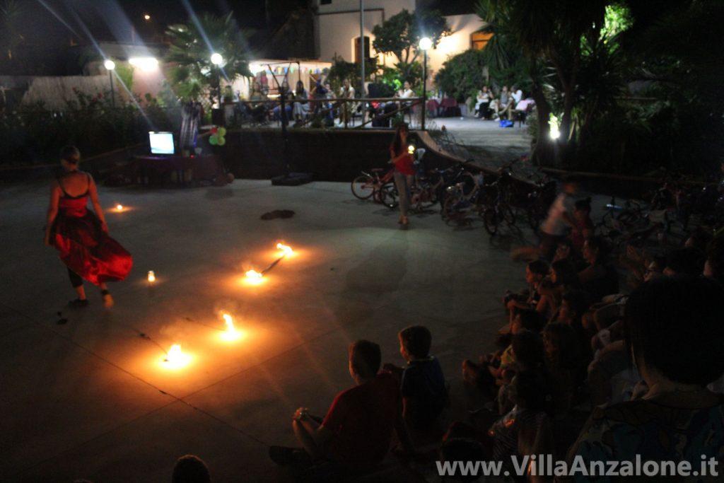 Spettacolo di fuoco feste di compleanno Acireale (Catania)